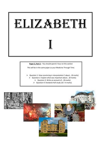AQA 8145 GCSE Elizabeth I Revision Guide