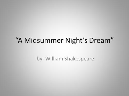 "KS3, ""A Midsummer Night's Dream"", Hermia and Helena, Fight, Analysis, Reading skills"