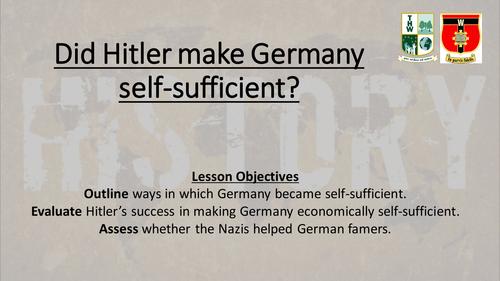 AQA New GCSE Germany 1890-1945 Part 3/3