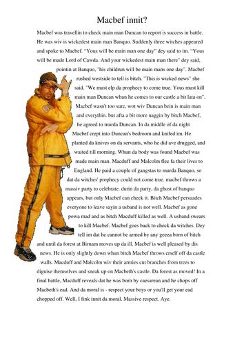 500 word essay on macbeth s decisions