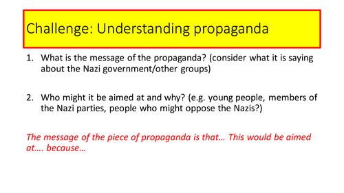 AQA 8145 Germany - Nazi Propaganda