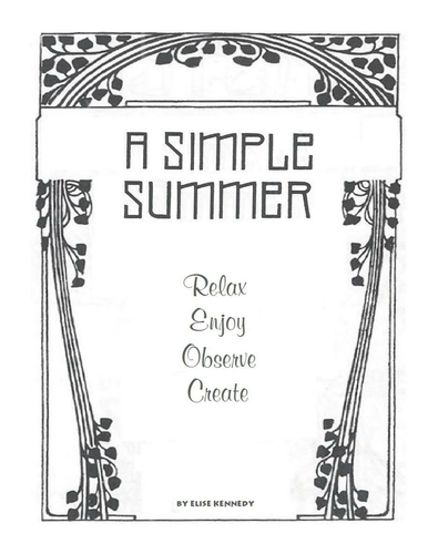 Activities for a Simple Summer