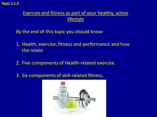 GCSE PE Booklet and Powerpoint.