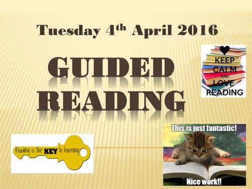 Guided Reading Matilda