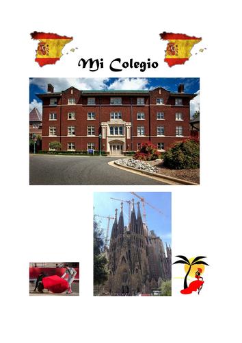 MI COLEGIO REVIEW WORKBOOK(HIGHER)