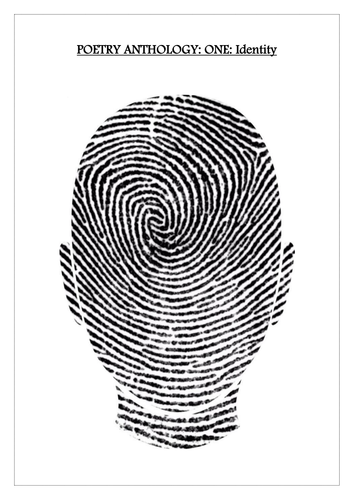 CCEA GCSE Literature Poetry: Anthology One: Identity