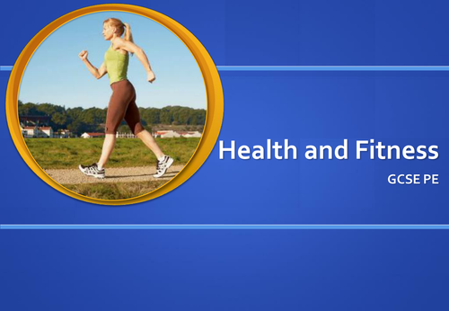Health and fitness power point