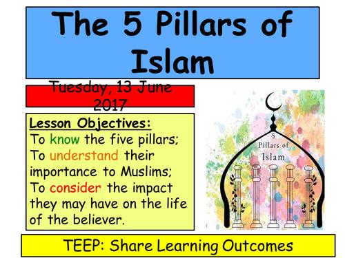 KS3 Islam- 5 Pillars