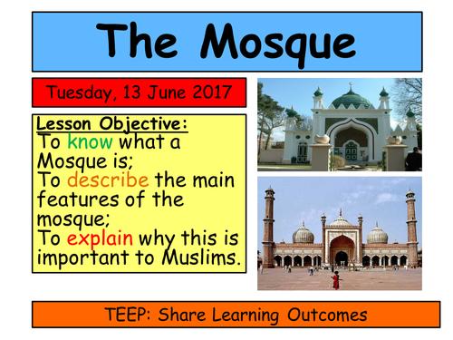 KS3 Islam- The Mosque