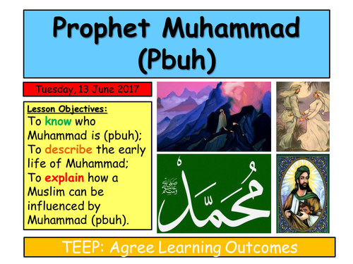 KS3 Islam- Muhammad