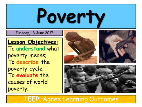 KS3 Charity- The causes of world poverty