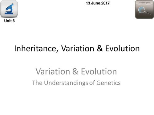 AQA Biology 4.6  –   L8 Mendel
