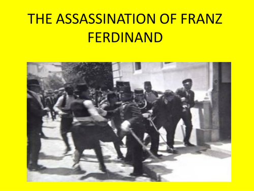 Assassination of Franz Ferdinand Newspaper Report