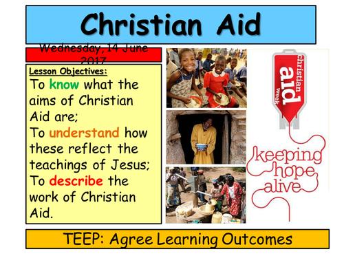 KS3 Charity- Christian Aid
