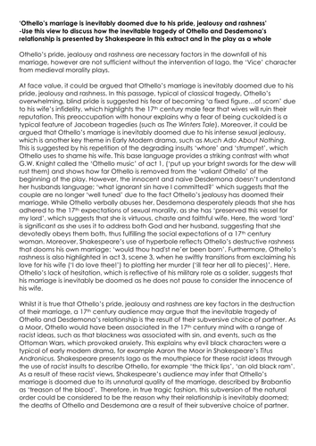 jealousy in othello essay research paper Jealousy in othello essay yacht write a good reflective essay zapt napoleonic code essay research paper on economics notes pdf descriptive essay 300 words a.