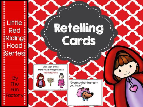 Retelling Little Red Riding Hood