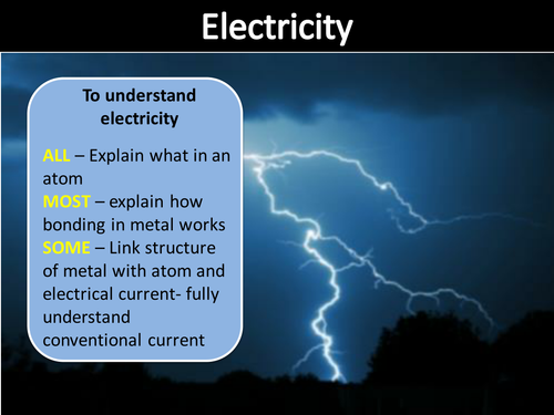 Edexcel physics -electricity CP9 whole topic(virtually) on pwpt and linked homework