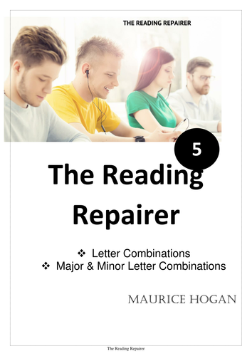The Reading Repairer Series, 5.  Letter Combinations