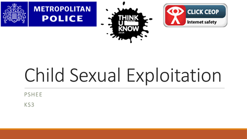 Child Sexual Exploitation KS3
