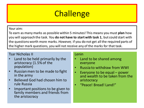 Russian Revolution - an introduction