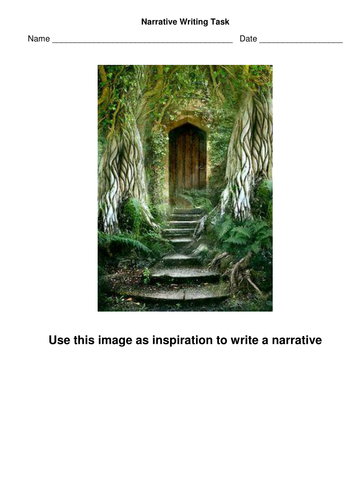 English: Narrative Writing Task