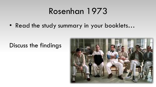Everything you need to teach PSYCHOPATHOLOGY AQA 2015 Psychology.