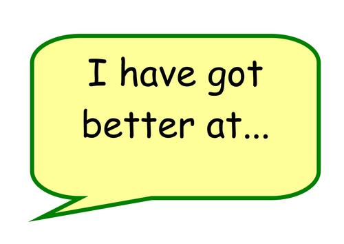 Behaviour for Learning / Successful Learner Talk Frames