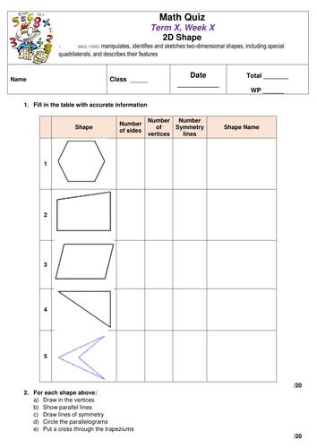 Math Quiz: Shape