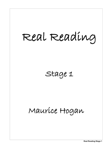 Real Reading Stage 1