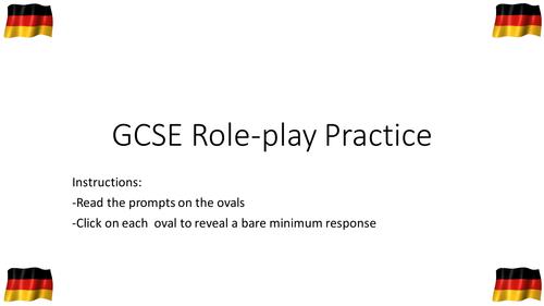 GCSE German Role-Play Practice