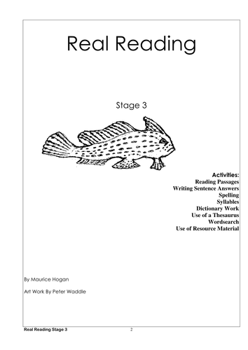 Real Reading Stage 3