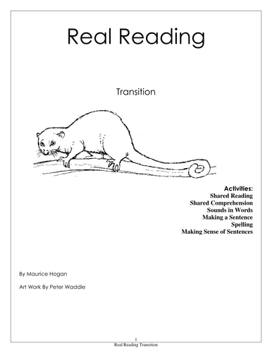 Real Reading Transition