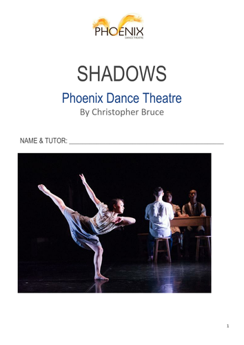GCSE Dance Shadows NEW