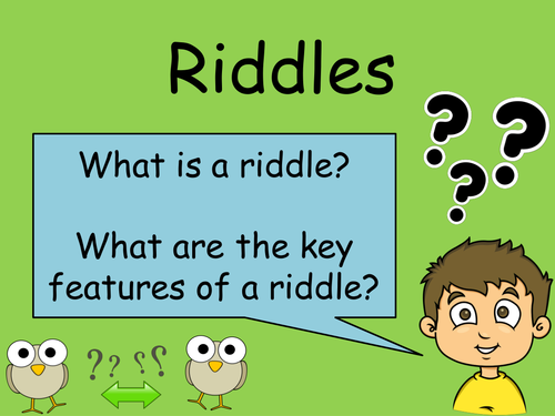 Riddles by sdgunston - Teaching Resources - Tes