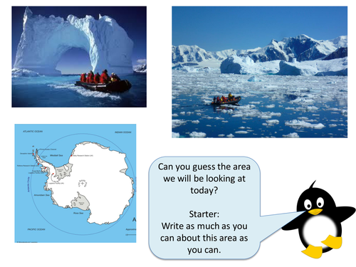 (11) Antartica Lesson, Natural Hazards SoW - Year 7 Geography