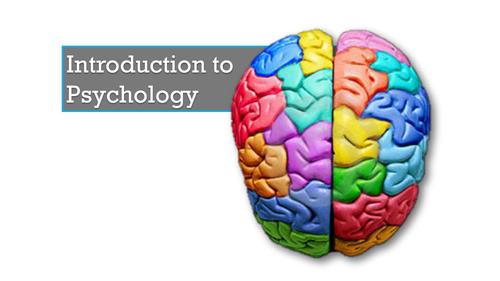 Taster lesson for GCSE Psychology