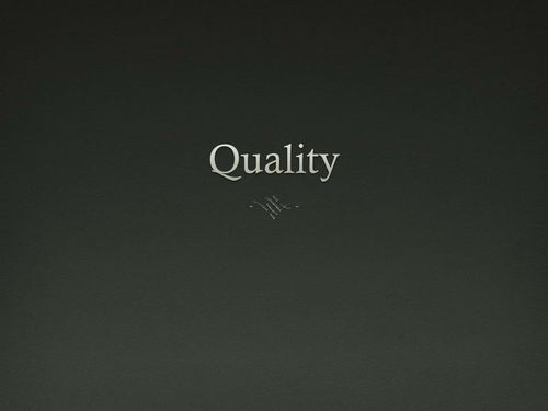 Graphics: Quality, Computer Aided Inspection & TQM