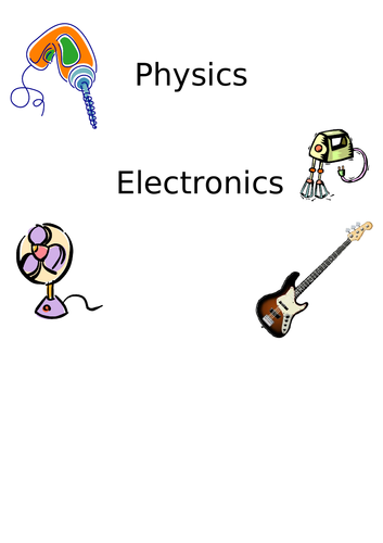 Electronics Activities, Worksheets and Teachers Guide