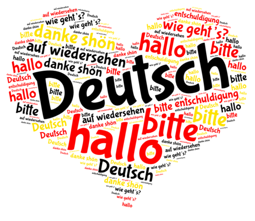 European Day of Languages - Heart Displays