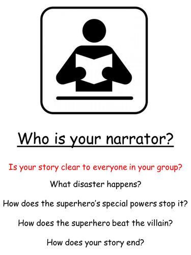 Superheroes SOW