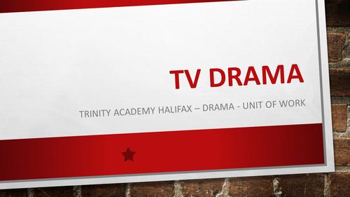 TV Drama SOW
