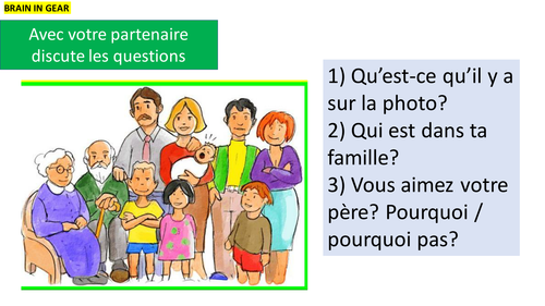 GCSE FRENCH SPEAKING REVISION