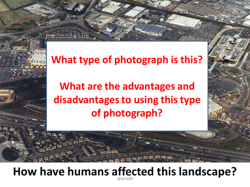 GCSE Geography OCR A (9-1) - How does human activity affect our landscapes?