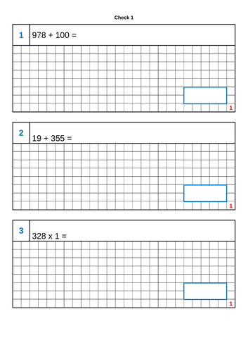 2018 KS2 SATs Arithmetic Practice Papers (Free Version)