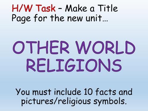 Whole School Sikhism Resources