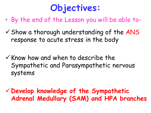 Stress Systems SAM PAS HPA