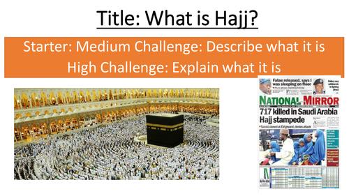 3.6 Hajj - Topic: Living the Muslim Life - New Edexcel GCSE