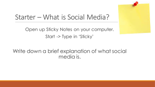 NQF BTEC Level 3 ICT Unit 3 - Using Social Media in Business