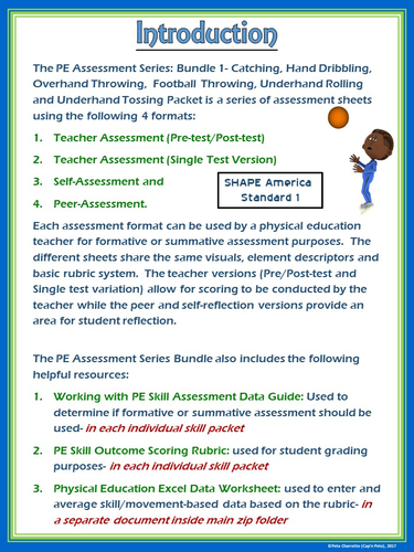 Pe assessment series bundle 1 catching dribbling throwing pe assessment series bundle 1 catching dribbling throwing rolling tossing by ejpc2222 teaching resources tes thecheapjerseys Choice Image