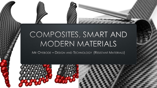Composites, Smart and Modern Materials